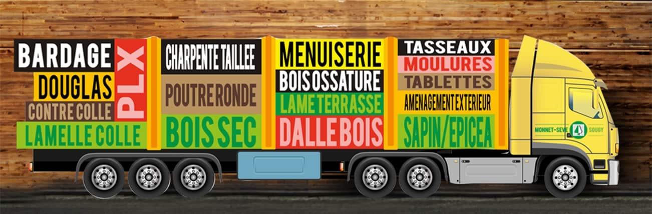 Transport logistique - Monnet Sève - Sougy